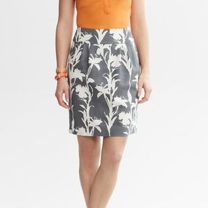 Banana Republic Heritage Floral Skirt